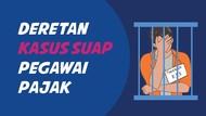 Deretan Kasus Suap Libatkan Pegawai Pajak