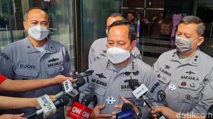 Kepala Badan Keamanan Laut (Bakamla) Laksdya TNI Aan Kurnia (Farih Maulana/detikcom)