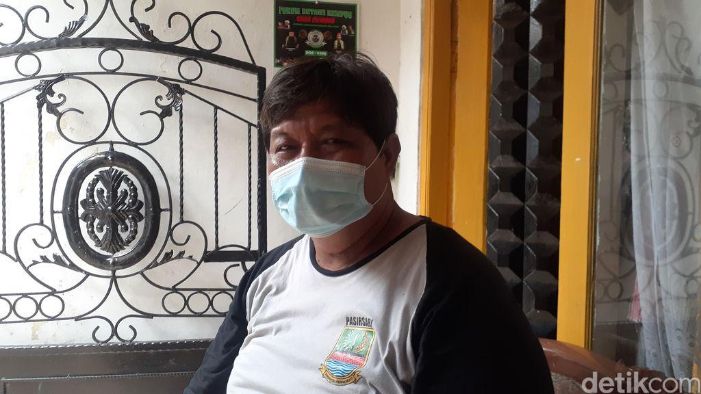 Ketua RT 11/ RW 04 Desa Pasirsari, Cikarang Selatan, Kabupaten Bekasi, Mamin Setiawan. (Afzal NI/detikcom)