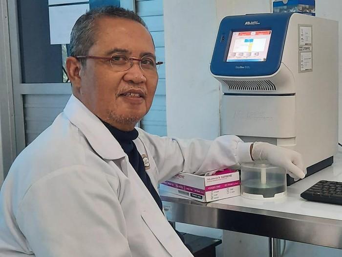 Ketua Tim Riset Corona dan Formulasi Vaksin dari Professor Nidom Foundation (PNF), Prof dr Chairul Anwar Nidom