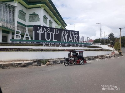 Megahnya Masjid Agung Baitul Makmur, Kebanggaan Kotamobagu