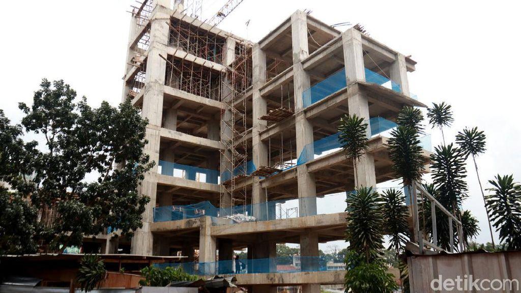Menengok Progres Pembangunan Rumah Deret Tamansari Bandung