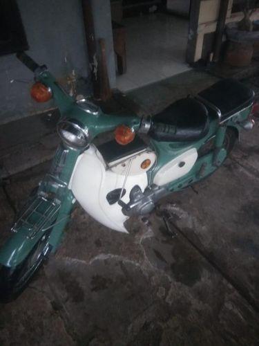 Motor yang dicuri pria di Bekasi (Dok Polres Metro Bekasi Kota)
