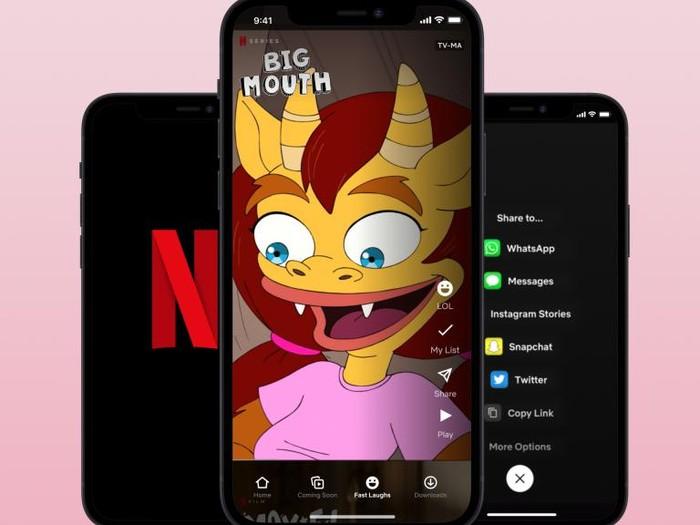 Netflix luncurkan Fast Laughs, fitur video pendek yang mirip seperti TikTok