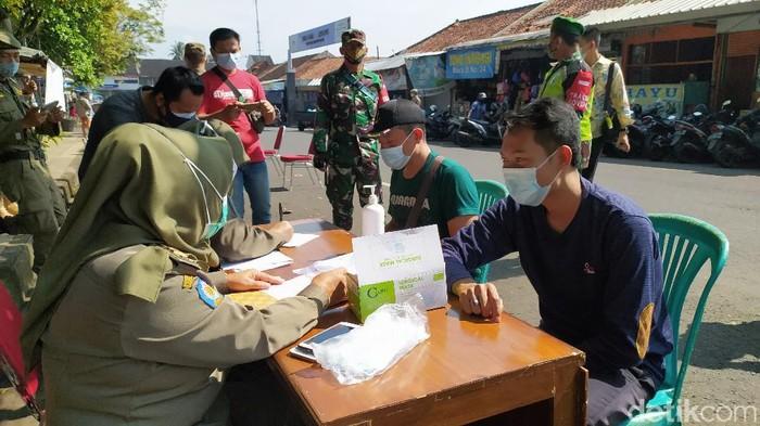 Operasi yustisi protokol kesehatan di Ciamis