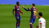 Video: Gol Roket Ousmane Dembele yang Awali Comeback Barca