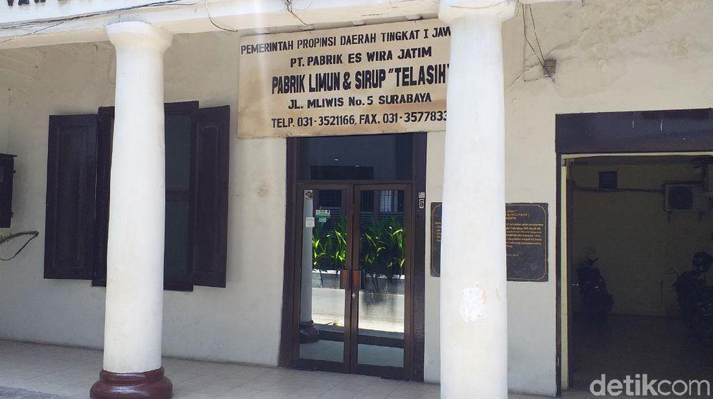 Berusia Hampir Seabad, Pabrik Sirup Siropen di Surabaya Jadi Cagar Budaya
