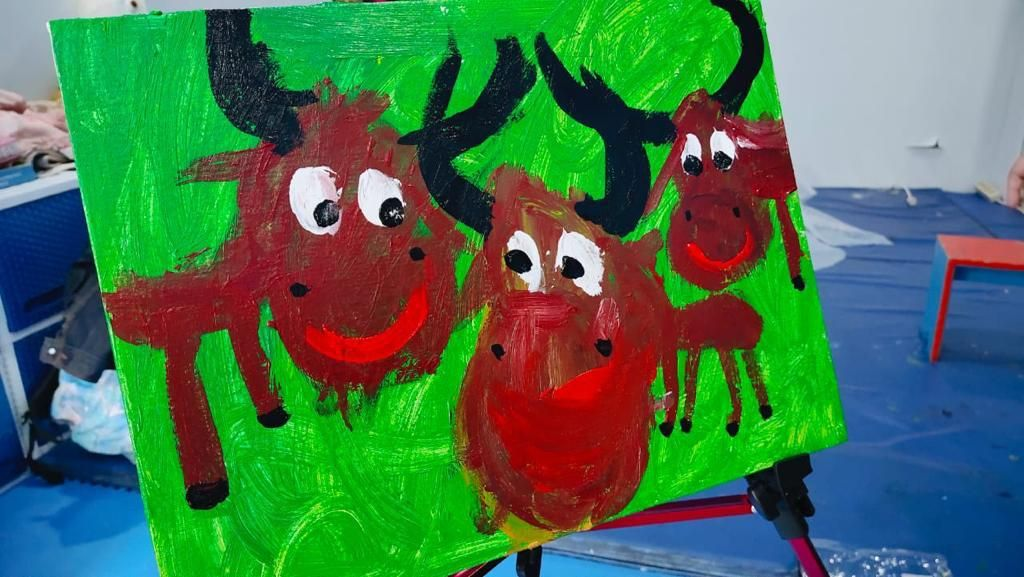 Pameran Lukisan Karya Raysha Kemal Gani
