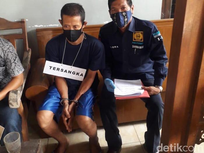 Pelaku pembunuhan sadis 4 orang sekeluarga di Rembang, Kamis (4/3/2021).