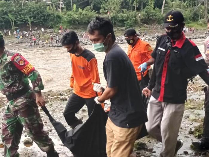 Penemuan mayat tanpa identitas di Sungai Klawing, Purbalingga, Kamis (4/3/2021).