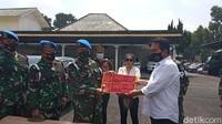 Denpom Bandung Jemput Wanita yang Pamer Pelat Dinas Palsu TNI