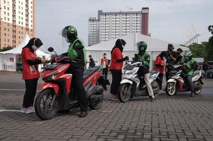 Peresmian Pos Pelayanan Program Vaksinasi COVID-19 Drive-Thru di Jakarta,