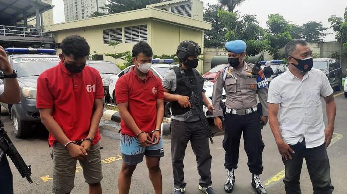 Pimpinan geng motor yang melukai polisi di Menteng ditangkap.
