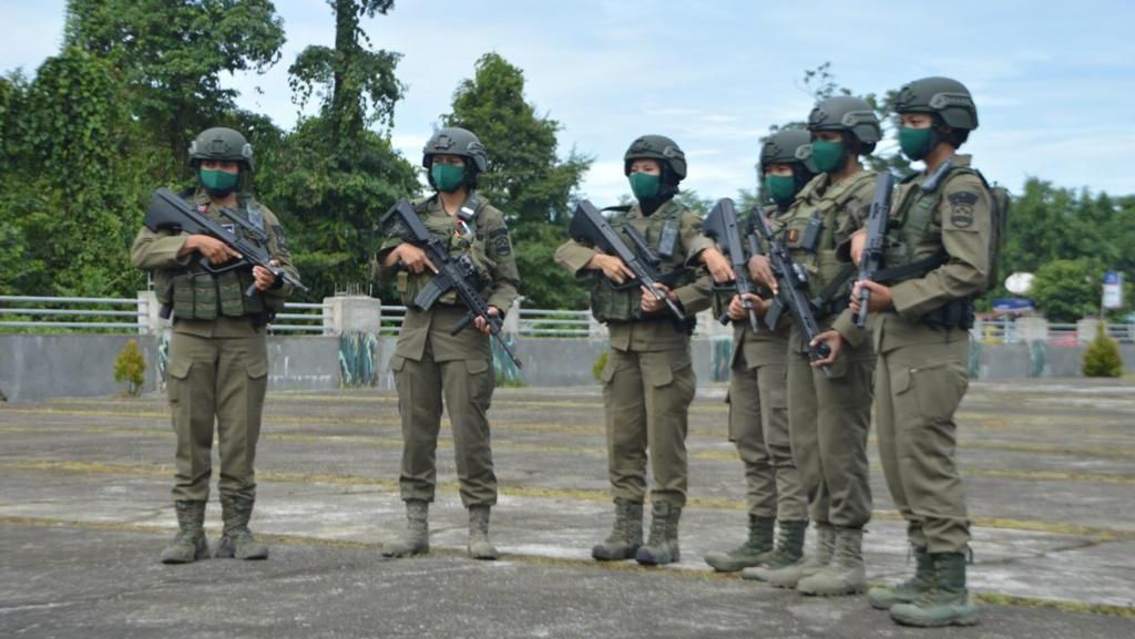 6 Polwan Tangguh Gabung Satgas Nemangkawi, Siap Jaga Papua dari KKB