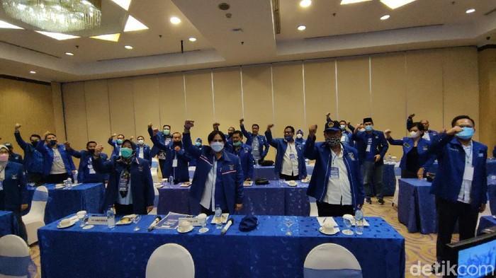 DPD Partai Demokrat Jateng dengan tegas akan melawan keputusan KLB di Sumut yang memilih Moeldoko jadi Ketua Umum, Jumat (5/3/2021).