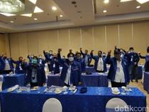 Yel-yel Lawan Moeldoko Bergema di Rakorda Demokrat Jateng
