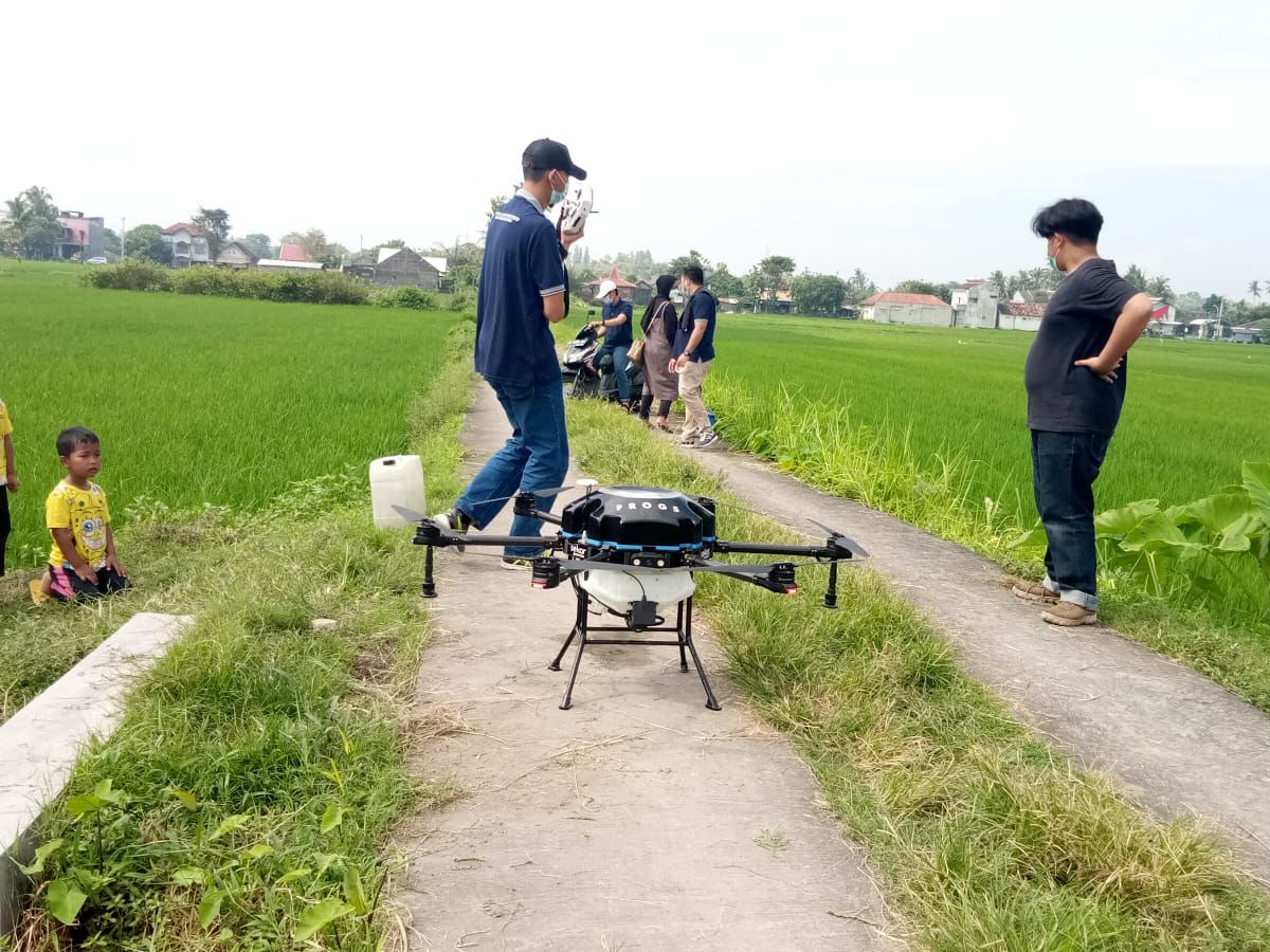 drone petani