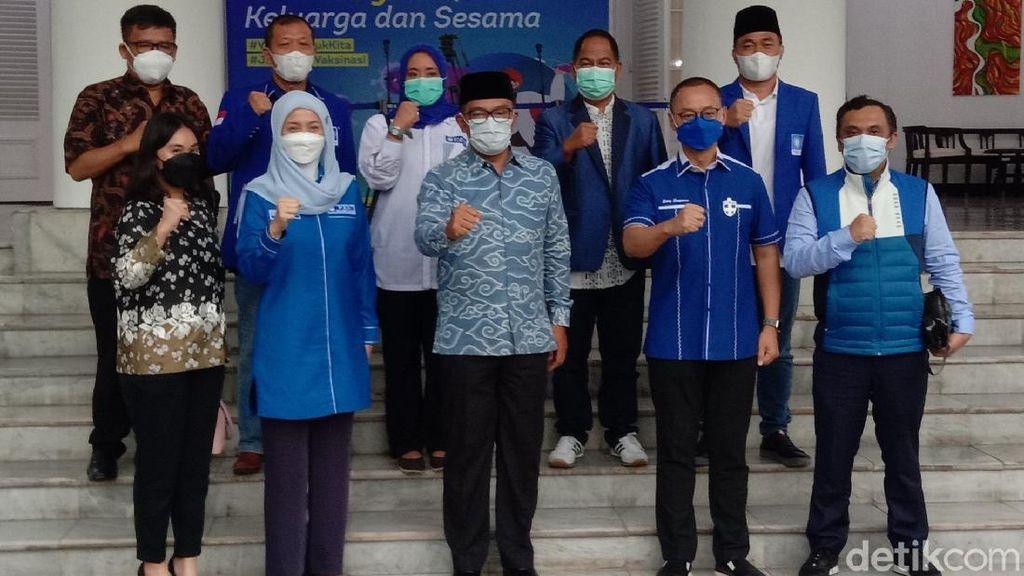 Elite PAN Bertemu Ridwan Kamil di Bandung, Bahas Apa?