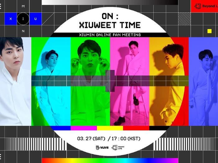 Fanmeeting Online Xiumin EXO
