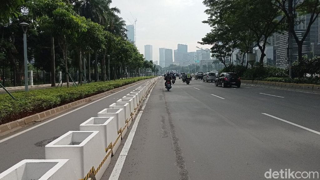 Pimpinan Komisi III Minta Kapolri Bongkar Jalur Sepeda Sudirman-Thamrin