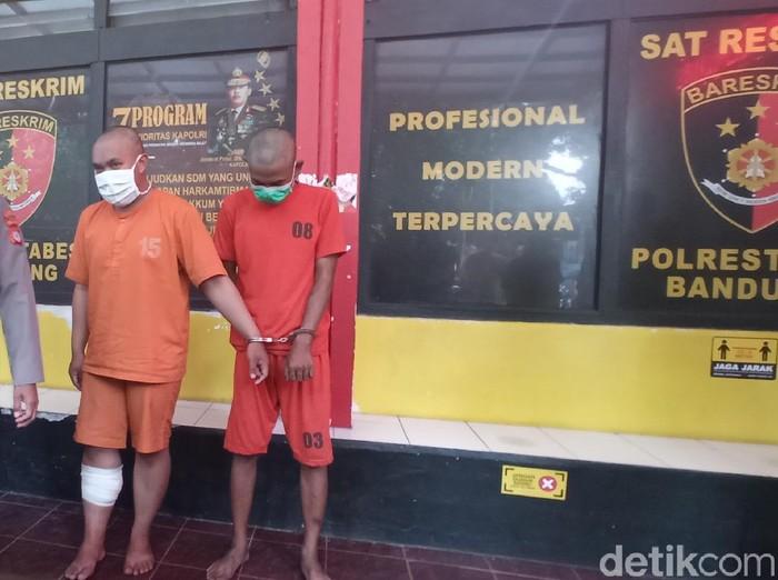 Jambret bermotor yang Seret korbannya di Bandung ditangkap