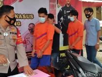 Polisi Bekuk 2 Pelaku Begal di Palembang