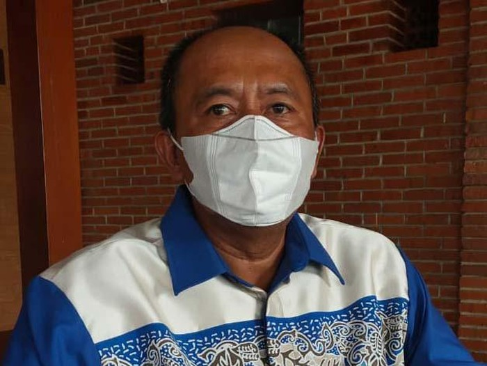 Ketua DPC Partai Demokrat (PD) Kabupaten Mojokerto Ayub Busono Listyawan