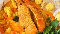 Masak Masak : Laksa Seafood yang Gurihnya Mantul