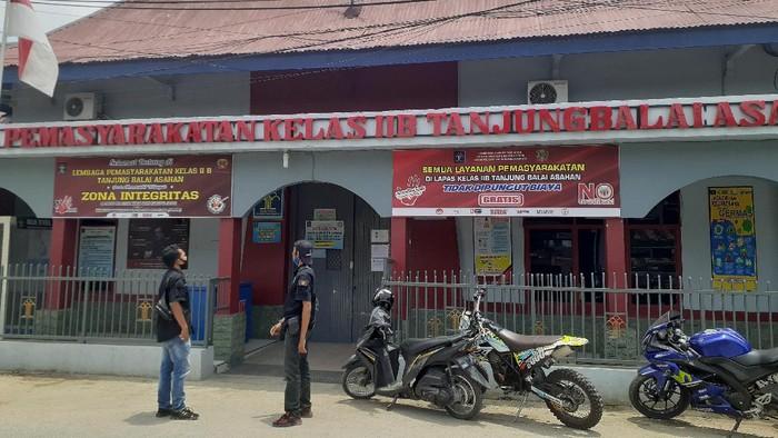 Lapas Klas II B Tanjungbalai, Sumatera Utara. (Perdana Ramadhan/detikcom)