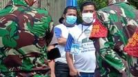 Massa Berkaus Moeldoko Ketua Umum Demokrat Ramaikan KLB PD di Sumut