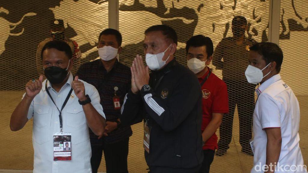 Tinjau Kesiapan Timnas U-23 Vs Tira Persikabo Bareng PSSI, Ini Kata Menpora