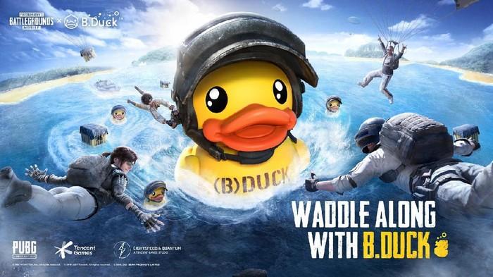 PUBG Mobile kolaborasi dengan B.Duck