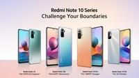 Spesifikasi dan Harga Redmi Note 10 Series yang Resmi Dirilis
