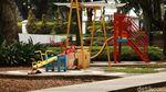 Setahun Corona, Seperti Ini Suasana Sepi di Taman Balai Kota Bandung
