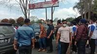 Massa KLB Usir Rombongan PD Sumut!