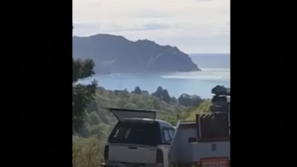 Penampakan Tsunami Kecil di Pantai Selandia Baru Usai Gempa M 8,1