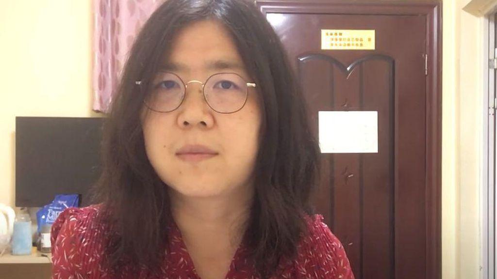 Wanita China Ogah Makan Gegara Dipenjara Videokan Pandemi Corona