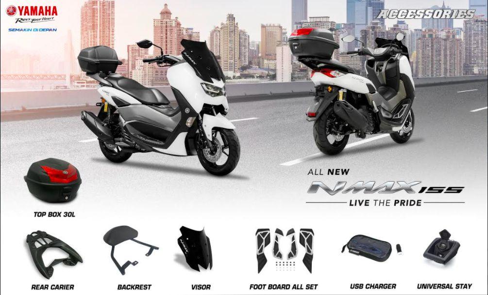 Aksesori Touring Yamaha Nmax