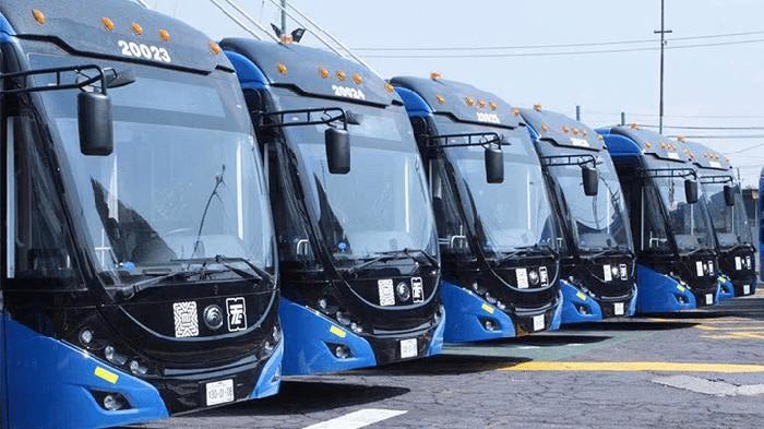 Bus Listrik di Qatar