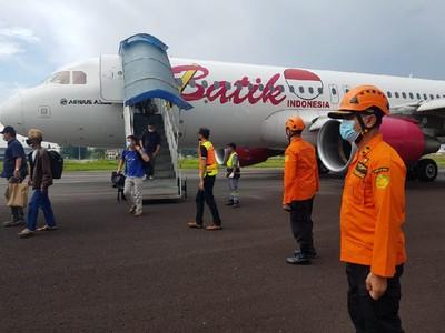 Mendarat Darurat di Jambi, Pesawat Batik Air Berhasil Dipindah