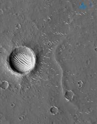 Foto Planet Mars Tianwen-1
