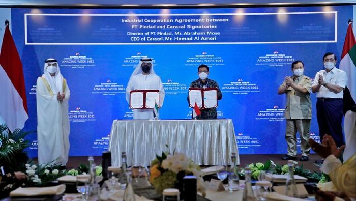 Indonesia dan Uni Emirat Arab kerja sama produksi senapan serbu