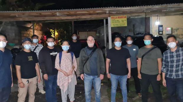 Kemenkumham Bali selidiki bisnis praktik 'kelas orgasme' yang dibuat WN Australia di Ubud, Gianyar (dok Kanwil Kemenkumham Bali)