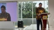 Tutup Rapimnas, Airlangga Ingin UU Cipta Kerja Cepat Diimplementasikan