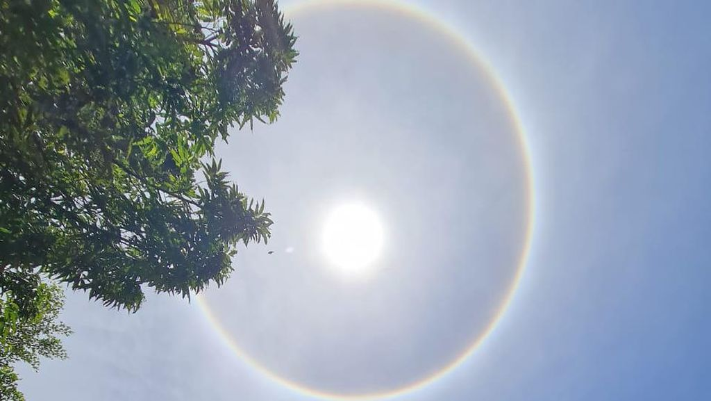 Melihat Fenomena Langka Matahari Bercincin di Parepare Sulsel