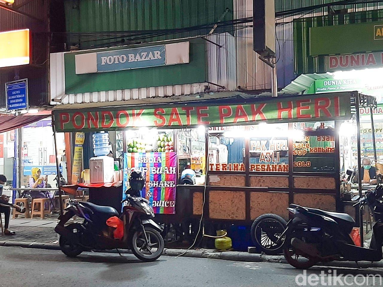 Sate Pak Heri Asli, sate legendaris di Sabang, Jakarta Pusat Sejak 1974