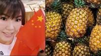 Sebut Mau Jajan Nanas Taiwan, Penyanyi Ini Diblokir dari Media Sosial China