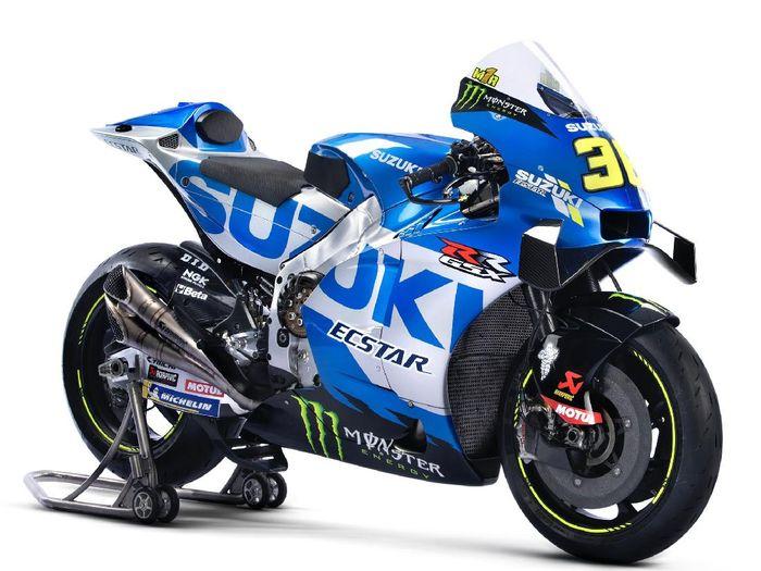 Suzuki Ecstar meluncurkan motor untuk MotoGP 2021 bersama Joan Mir dan Alex Rins