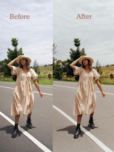 Travel Blogger Sarah Azka yang menjual preset.