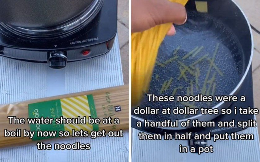 Viral Video Remaja Tunawisma Masak Spaghetti, Ditonton 21 Juta Kali!